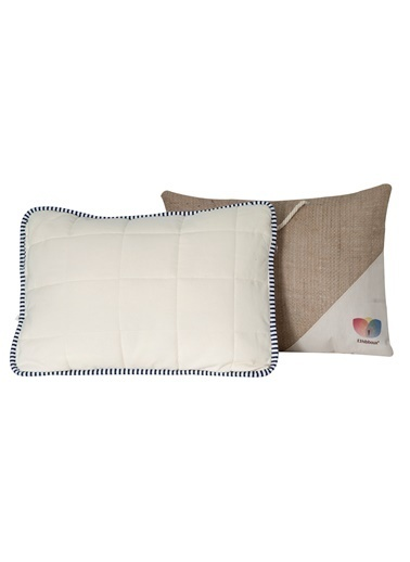 Hibboux Soft Flannel Pamuk Bebek&Çocuk Yastığı Beyaz